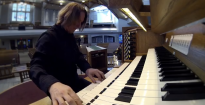Christoph Bull plays: Hymn Improvisation on 'Holy, Holy, Holy'.