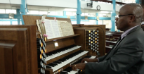 Monarke organ for the Accra Ridge Church, Ghana.