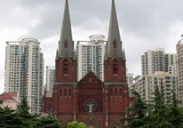 An exemplary installation: St. Ignatius Cathedral, Shanghai, China