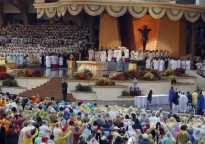 Johannus at Pope's Open Air Mass in Manila.